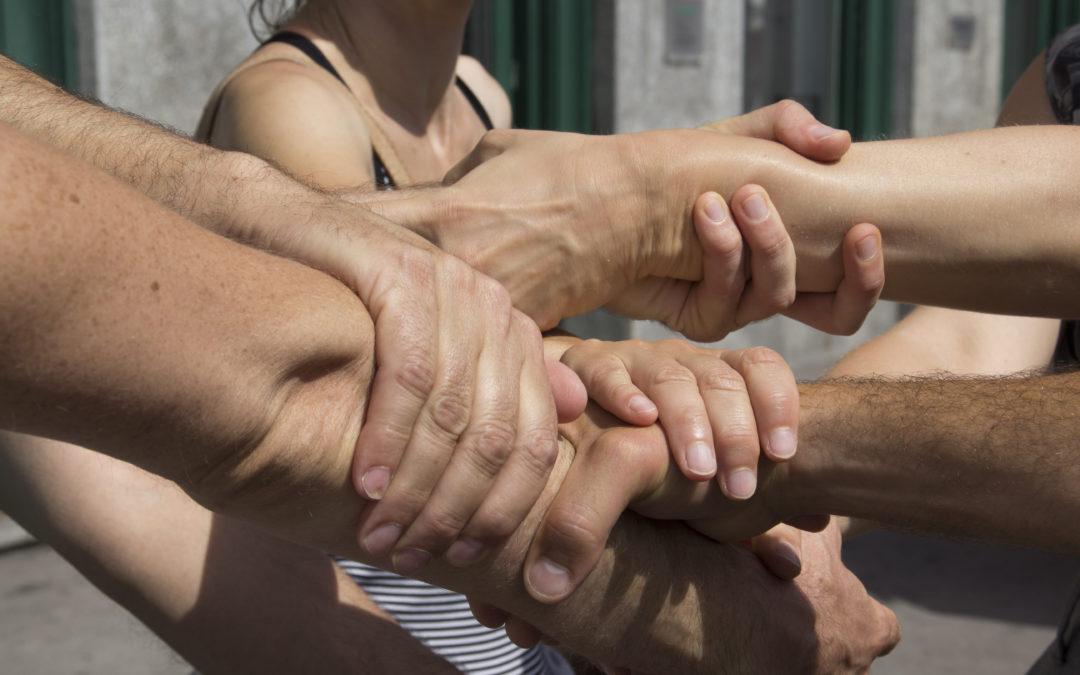 Handshake action in Zagreb