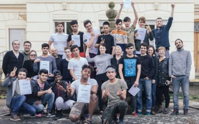 Migrant Bodies in Rechnitz, sharing moment